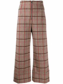 Pinko - plaid cropped trousers 5F33669CY39555939300