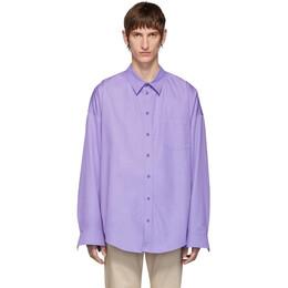 Balenciaga Purple Cocoon Shirt 192342M19204108GB