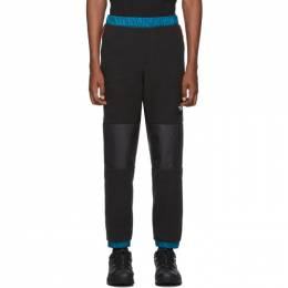 The North Face Black and Blue Denali Lounge Pants 192802M19000604GB