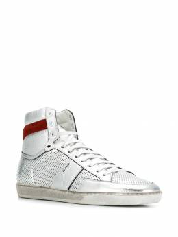 Saint Laurent - Court Classic hi-top sneakers 53368B96956600360000