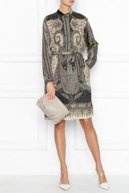 Платье с узором Etro 907158511