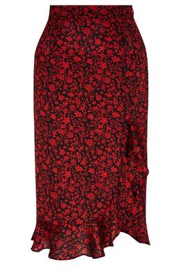 Черная юбка с воланами Maje 888157965