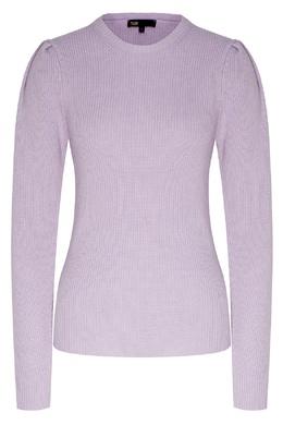 Сиреневый пуловер с круглым вырезом Maje 888157958