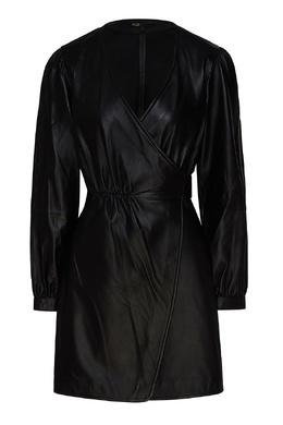 Кожаное платье-халат Maje 888157943