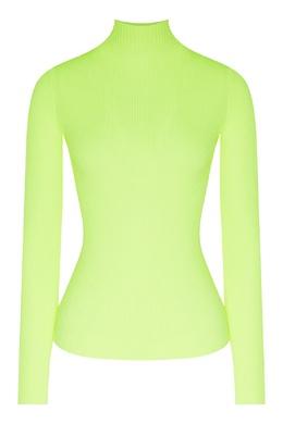 Желтый пуловер с длинными рукавами Maje 888157953