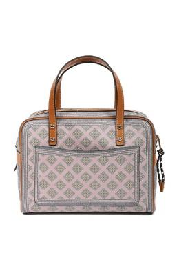 Розовая сумка с узорами и отделкой Etro 907158834