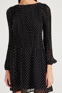 Черное платье в горох Maje 888157975