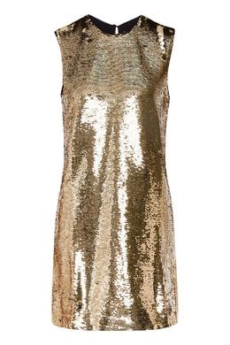 Платье на бретелях с пайетками Maje 888157976