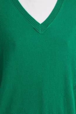 Зеленый кашемировый свитер Maje 888157969