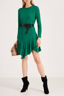 Изумрудное платье из крепа Maje 888157948