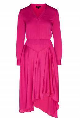 Асимметричное атласное платье Maje 888157945