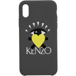 Kenzo Grey Limited Edition Eye iPhone X Case 192387F03201201GB