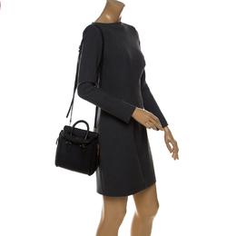 Alexander McQueen Black Leather Mini Heroine Bag 232237