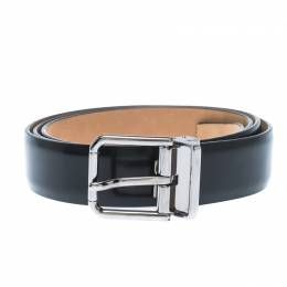 Dolce&Gabbana Dark Green Leather Buckle Belt 115CM 235217