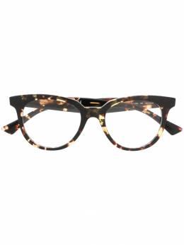 Bottega Veneta Eyewear очки в круглой оправе BV1020O