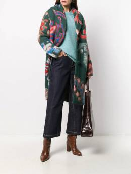 Tory Burch - floral pattern mid-length coat 69955956600000000000