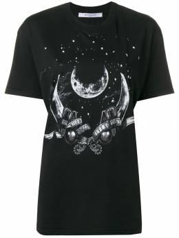 Givenchy - футболка с графическим принтом 6663Z9F9355889000000