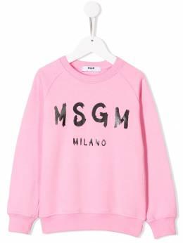 Msgm Kids - толстовка с логотипом 35995953535000000000