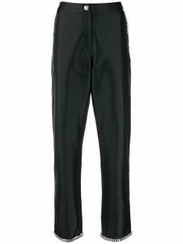 Giuseppe Di Morabito атласные брюки с кристаллами FW19038PA