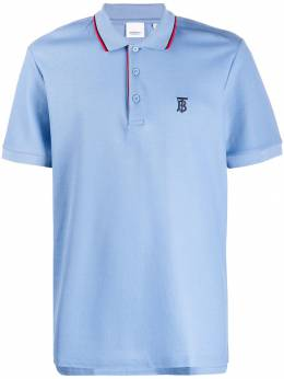 Burberry - logo embroidered polo shirt 99939558886600000000