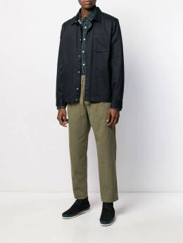 Polo Ralph Lauren - crest embroidered checked shirt 36630995586956000000