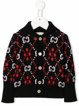 Gucci Kids - кардиган с узором GG 395XKANL956683300000