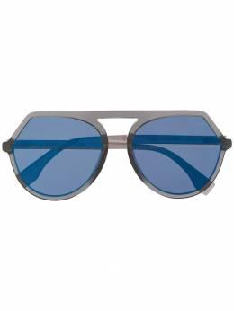 Fendi Eyewear - солнцезащитные очки-авиаторы 335GS955893050000000