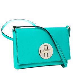 Kate Spade Green Leather Sally Crossbody Bag 231902