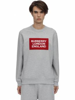 Свитшот Из Хлопкового Джерси С Логотипом Burberry 70ILFC081-QTIxNDI1