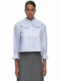 Блузка Из Хлопка Поплин Maryam Nassir Zadeh 70IDL0002-Njgy0