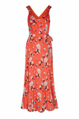 Оранжевое платье-сарафан Self-portrait 532158959