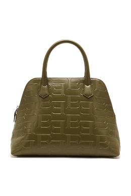 Оливковая кожаная сумка с монограммами Ermanno Ermanno Scervino 1790158863