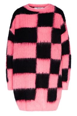 Черно-розовый джемпер MSGM 296158702
