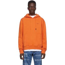 Off-White Orange Logo Hoodie 192607M20204104GB