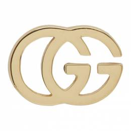 Gucci Gold GG Tissue Stud Earrings YBD09407400200U