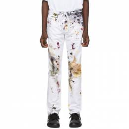 Off-White White Dirty Jeans 192607M18600202GB