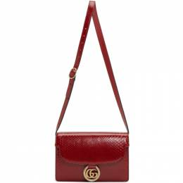 Gucci Red Small Snake GG Ring Bag 192451F04817401GB