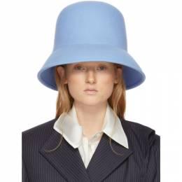 Nina Ricci Blue Wool Hat 19HAA0035FU0006