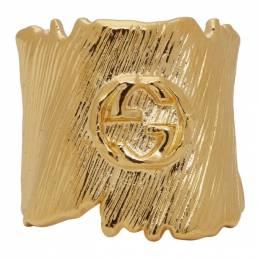Gucci Gold Small Interlocking G Ring 192451F02400601GB