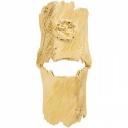 Gucci Gold Interlocking G Ring 192451F02400701GB