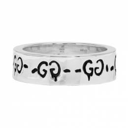 Gucci Silver GucciGhost Ring 201451F02401303GB