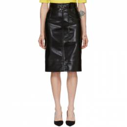 Kwaidan Editions Black Coating Pencil Skirt AW19S012W_PC