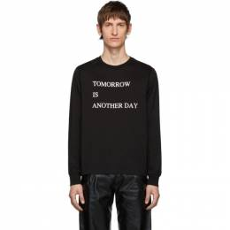 Takahiromiyashita The Soloist Black Tomorrow Is Another Day Long Sleeve T-Shirt SC.0022AW19