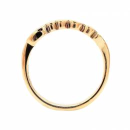 Gucci Icon 18K Rose Gold Ring Size 49 235028