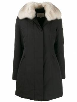 Peuterey - contrasting collar padded coat 33056999959395696598