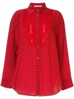 Ermanno Scervino - блузка в горох 0K308UAD959866630000