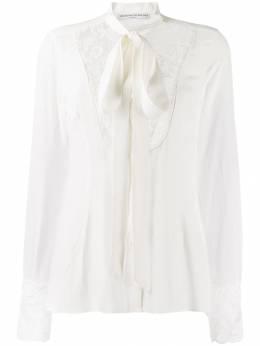 Ermanno Scervino - блузка с кружевными вставками 0K309FDZ950336630000
