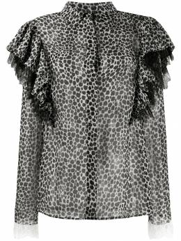 Philosophy Di Lorenzo Serafini - блузка с леопардовым принтом 03393695530966000000