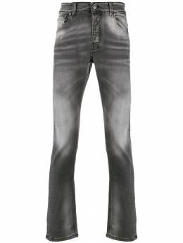 John Richmond - distressed wash straight-fit jeans 99009JEPG95663809000