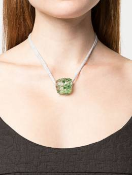 Maryam Nassir Zadeh - Earth embellished necklace 9JL69955900590000000